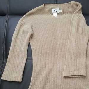 Armani exchange knitted sweater sz L